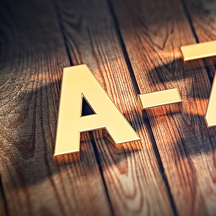 「A」から書く方法